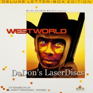 Westworld - Laser Disc cover