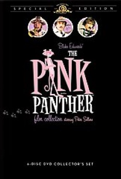The Pink Panther Film Collection - DVD cover