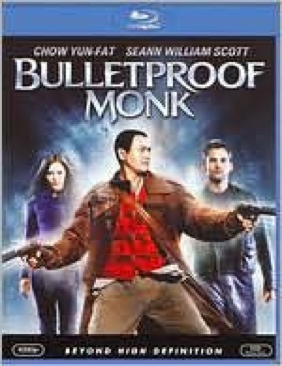 Bulletproof Monk - Blu-ray cover