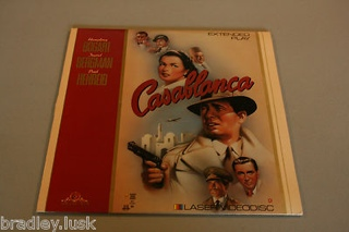 Casablanca - Laser Disc cover