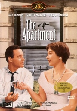 The Apartment - DVD cover