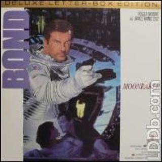 007. NR 11. MOONRAKER. - Laser Disc cover