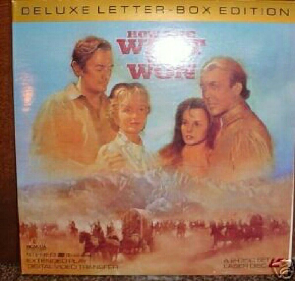 How the West Was Won. (LD) -  cover