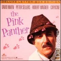 The Pink Panther - Laser Disc cover