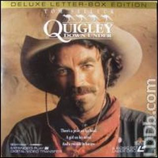 Quigley Down Under - Laser Disc cover