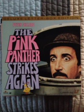 The Pink Panther Strikes Again - Laser Disc cover