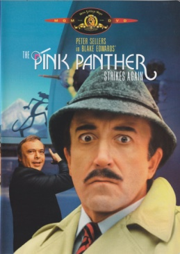 Pink Panther Strikes Again - DVD cover