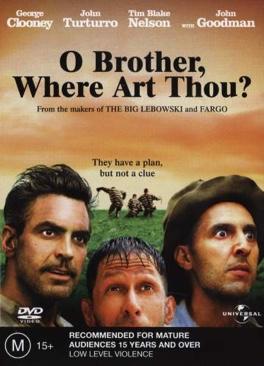 O Brother, Where Art Thou? - Betamax cover
