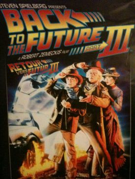 Back to the Future III - CED cover