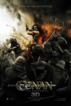 Conan The Barbarian - DVD cover