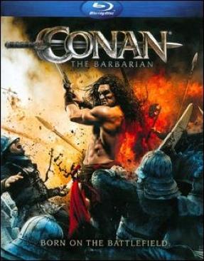 Conan The Barbarian - Blu-ray cover