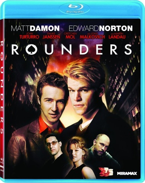 Rounders - Blu-ray cover