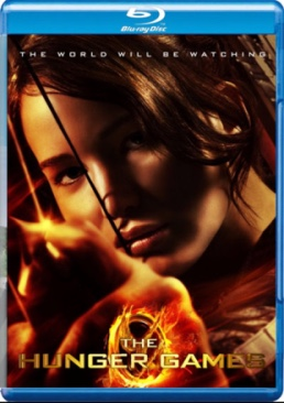 The Hunger Games: Part 1 - Blu-ray cover