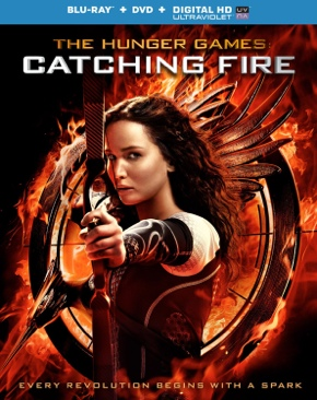 The Hunger Games: Catching Fire - VUDU  - Blu-ray cover