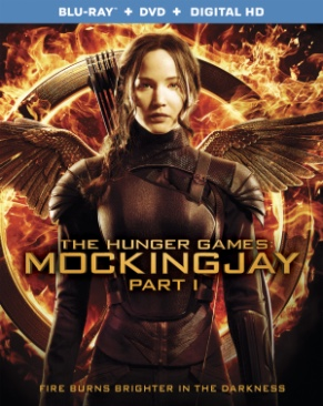The Hunger Games 3: Mockingjay Part 1 - Blu-ray cover