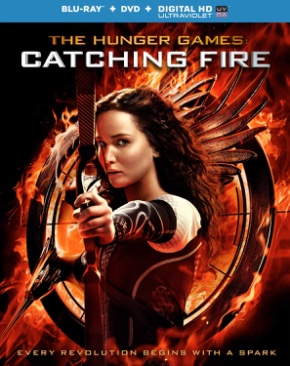 The Hunger Games:  2 Catching Fire - Blu-ray cover