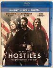 Hostiles - Blu-ray cover