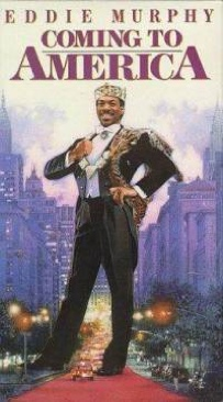 Coming to America - VHS cover