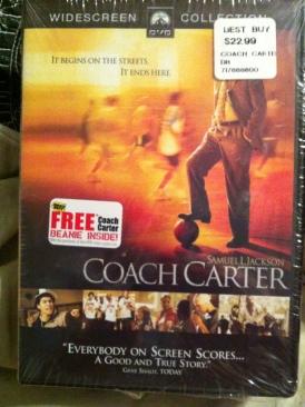 Coach Carter - DVD cover