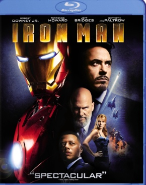 Marvel: Iron Man 1 - Blu-ray cover