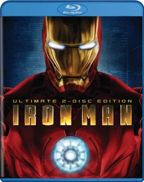 Marvel 3: Iron Man - Blu-ray cover
