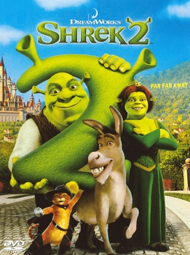 Shrek 2 - HD DVD cover