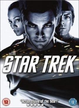 Star Trek (Chris Pine Remake #1) - DVD cover