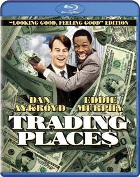 Trading Places - Blu-ray cover
