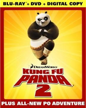 Kung Fu Panda 2 E90 - Blu-ray cover