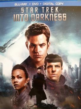 Star Trek: Into Darkness - DVD cover