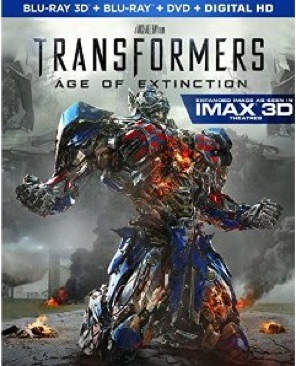 Transformers: Age of Extinction (3D) - Blu-ray cover