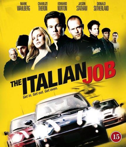 The Italian Job [Steelbook] - Blu-ray cover