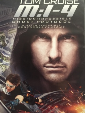 Mission: Impossible 4 Ghost Protocol - DVD cover