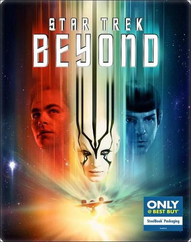 Star Trek XIII: Beyond - Blu-ray cover