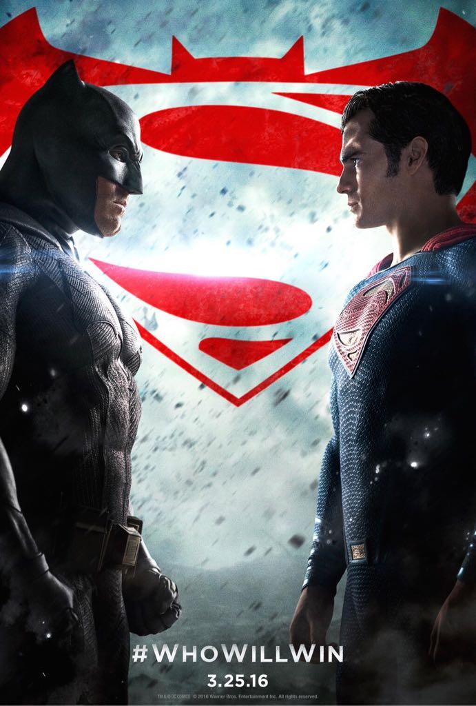 Batman V Superman: Dawn of Justice - Blu-ray cover