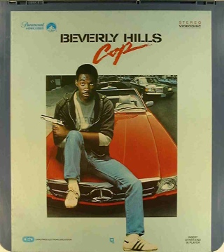 Beverly Hills Cop - CED cover