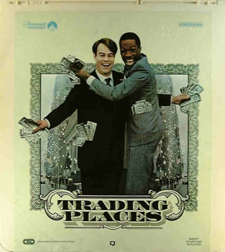 Trading Places - CED cover