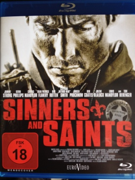 Sinners And Saints - Blu-ray cover
