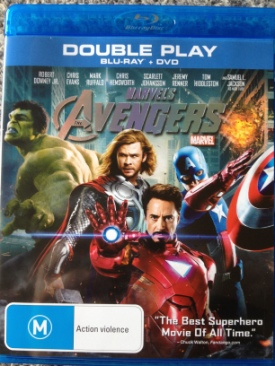Avengers - Blu-ray cover