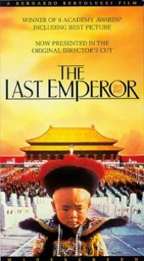 The Last Emperor - VHS cover