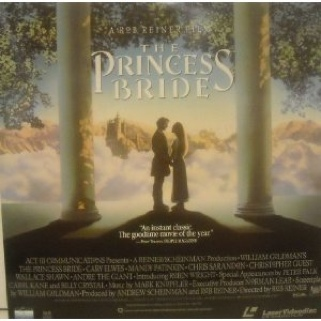 The Princess Bride - Laser Disc cover