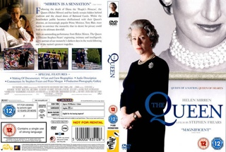 The Queen - DVD cover