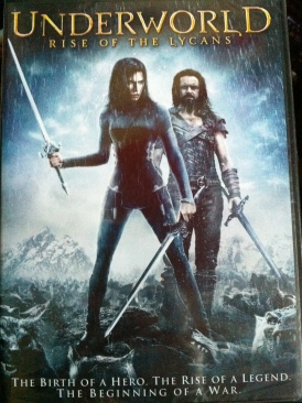 Underworld: Rise of the Lycans - Video CD cover
