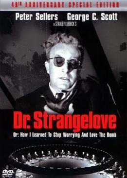 Dr. Strangelove - DVD cover