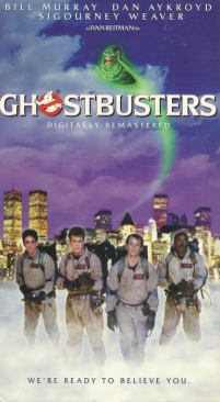 Ghostbusters - VHS cover