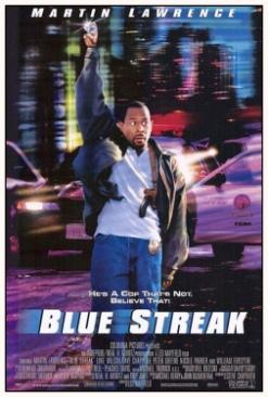 Blue Streak - DVD cover