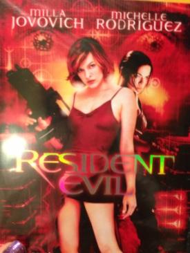 Resident Evil - DVD cover