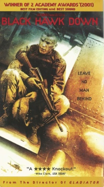 Black Hawk Down - VHS cover