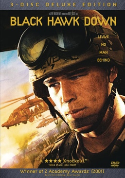 Black Hawk Down - DVD cover