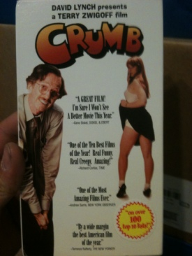 Crumb - VHS cover